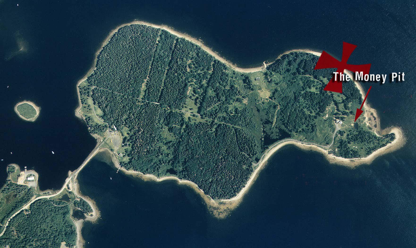 Oak Island Map Of Residents